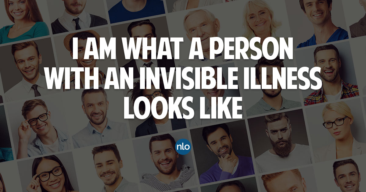 I am what a person with an invisible illness looks like
