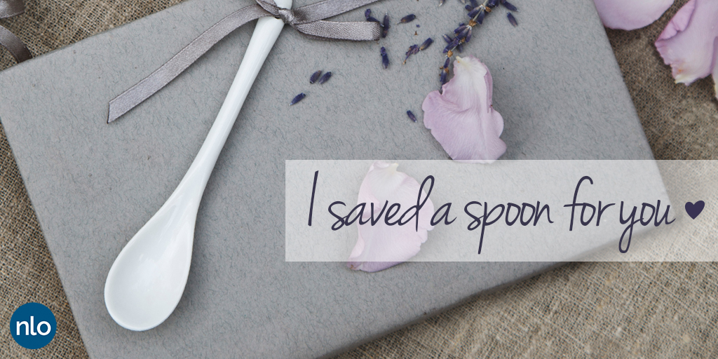 I saved a spoon for you